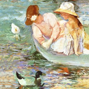 Cassatt summertime detail
