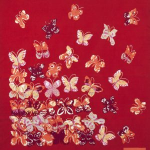 Dufy-papillons-rouge-5429T90