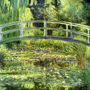 Monet Bridge detail